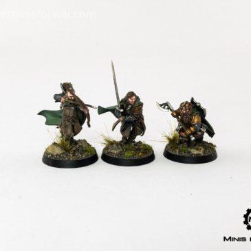Lord of the Rings/ Hobbit – Three Hunters: Aragorn, Gimli, Legolas