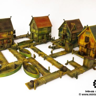 Lord of the Rings/ Hobbit – Lake Town