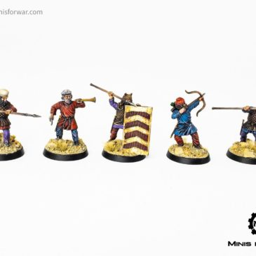 Wargames Atlantic – Persian Infantry and Halfling Militia