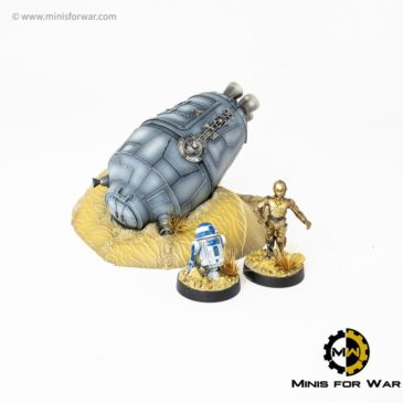 Star Wars: Legion – Crashed Escape Pod