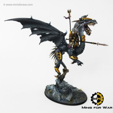 AoS – Dreadlord/ Sorceress on Black Dragon