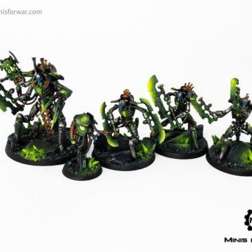 40k – Necron Indomitus Heroes