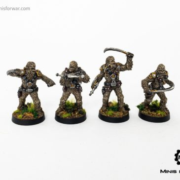 Star Wars: Legion – Wookiee Warriors & Chewbacca