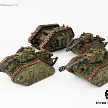 40k – Astra Militarum Tanks & Spartan