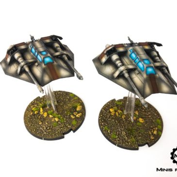 Star Wars: Legion – T-47 Airspeeder, Rebel Troopers and Shoretroopers