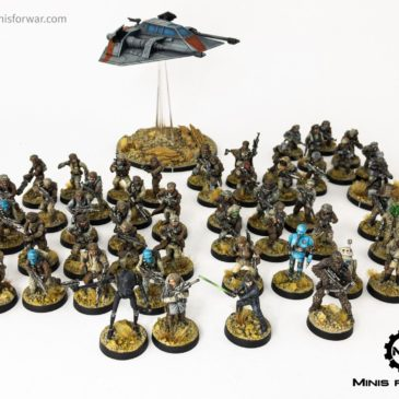 Star Wars: Legion – Rebel Army Showcase