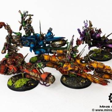 40k – Ork Jetbikes