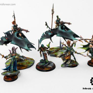 40k – Harlequins + Raging Heroes Miniatures