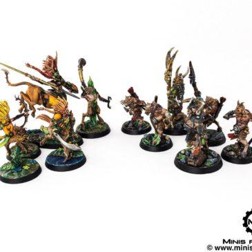 Warhammer Underworlds: Beastgrave Starter Set & Terrains