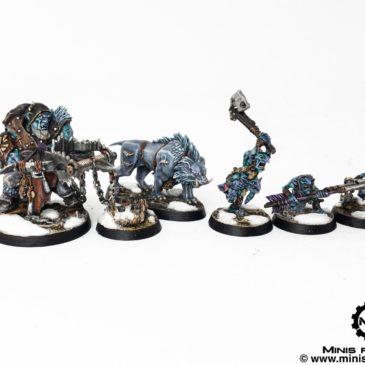 Warhammer Underworlds: Hrotgorn Mantrapper & Grashrak Ravagers