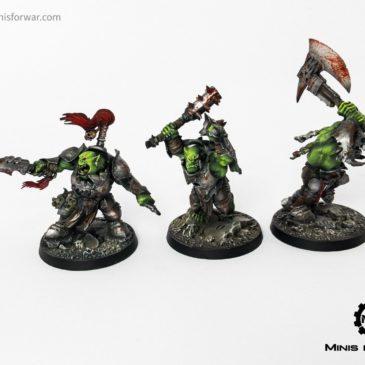 Warhammer Underworlds: Morgok's Krushas & The Chosen Axes