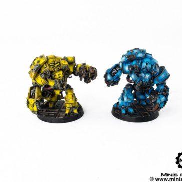 Necromunda – Ambots, Goliath Gang and Orlock Gang