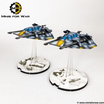 Star Wars: Legion – T-47 Air Speeders & Rebel Veterans