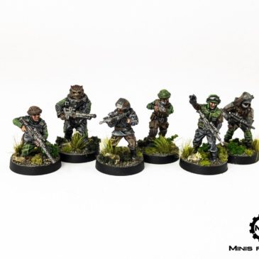 Star Wars: Legion – Rebel units