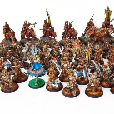 AoS – Khorne Bloodbound Army Part III