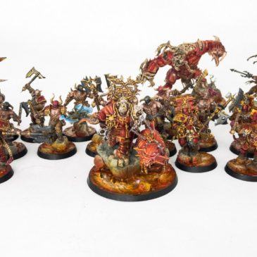 AoS – Khorne Bloodbound Army Part I