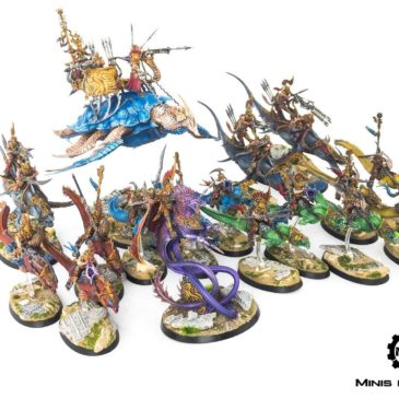 AoS – Idoneth Deepkin Army, Part I