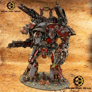 40k – Banelord, Khorne's Warlord Titan