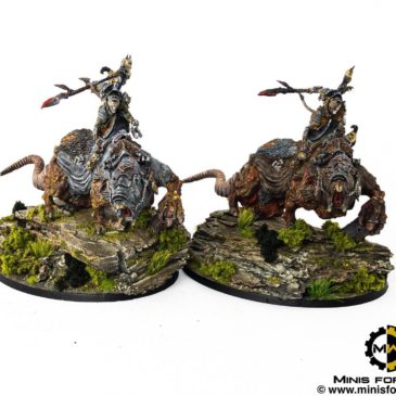 AoS – Skaven Lords & Thanquol Diorama