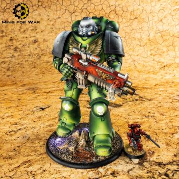 40k – McFarlane Space Marines Intercessor