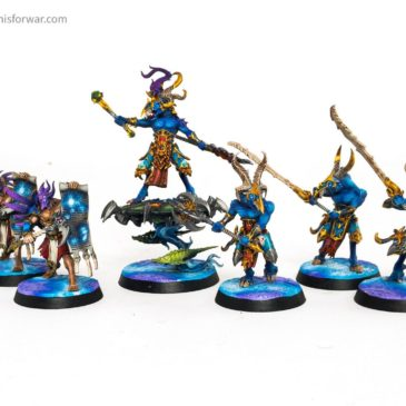 AoS –  Tzeentch Warband & Other Hereos