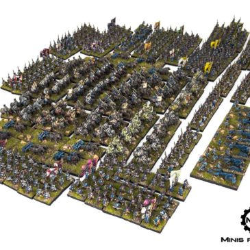 Historical Wargames – 7 Years War in 10 mm scale