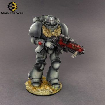 40k – McFarlane Space Marine inspired by Astartes animation