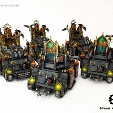 40k – Sisters of Battle Army, Part I – Vehicles
