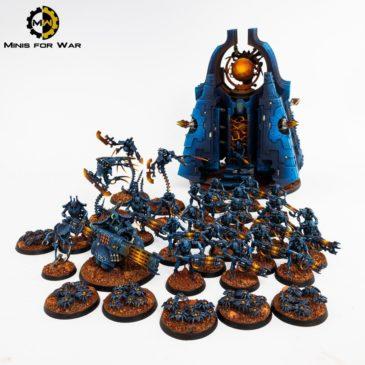 40k – Blue Necron Army