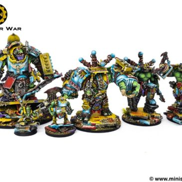 40k – Mech Ork Army: Unique Heroes
