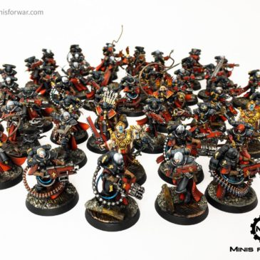 40k – Sister of Battle Army, Part III – Infantry