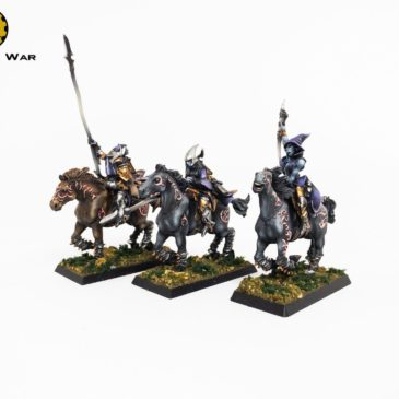 9th Age/ WFB – Gamezone Dark Elves Cavalery