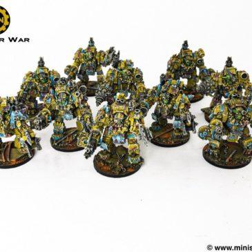 40k – Mech Ork Army: Meganobz, Lootas & Pig Bikers