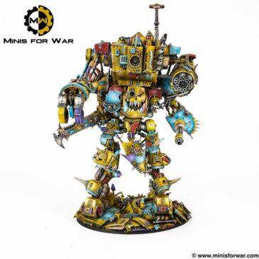 40k – Mech Ork Stompa Knight