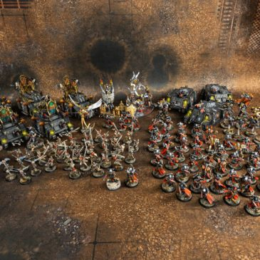 40k – Sisters of Battle Army – Sneak Peek