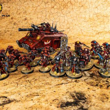 40k – Blood Angels Army