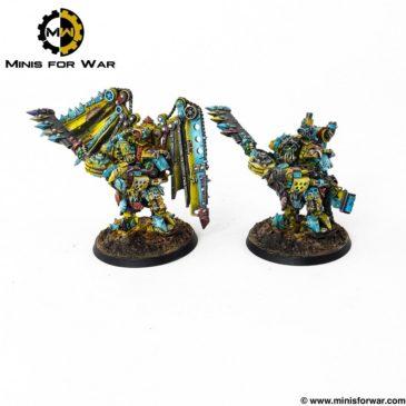 40k – Mech Ork Heroes, part I