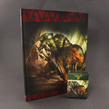 Giveaway! New limited Orc Codex + Datacards