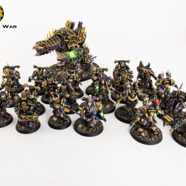 40k – CSM Black Legion Forces