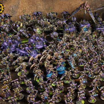 40k – Massive Chaos Space Marines Army!