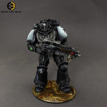 40k – McFarlane Space Marine – Black Templar