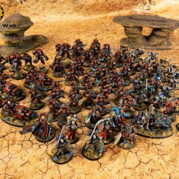 40k – Space Marines Blood Angels – Full Army